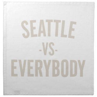 Seattle Vs Everybody Napkin