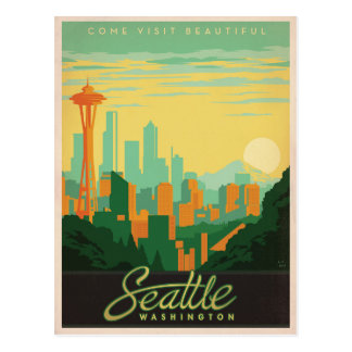 Seattle, WA Carte Postale