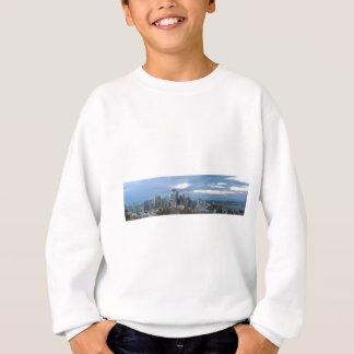 Seattle WA City Skyline evening Panorama Sweatshirt