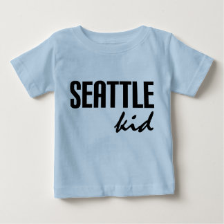 Seattle WA Kids Infant Tee Shirt