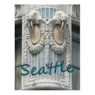 Seattle Walrus Postcard