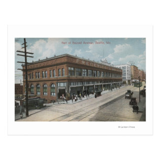 Seattle, WASecond Avenue Frederick and Nelson Postcard
