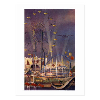 Seattle, Washington1962 World's Fair Poster Post Card