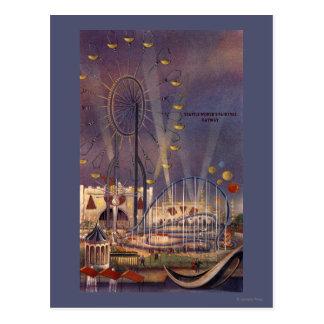 Seattle, Washington1962 World's Fair Poster Post Cards