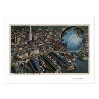 Seattle Washington - Aerial of Seattle Postcards
