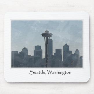 Seattle Washington Downtown Gifts Souvenir Mouse Pad