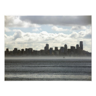 Seattle Washington from the Puget Sound - 2014 Art Photo