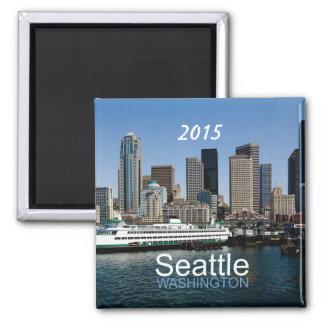Seattle Washington Souvenir Magnet Change Year