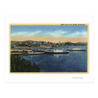 Seattle, Washington - View of Smith Postcard