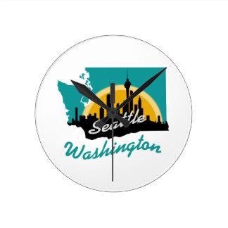 Seattle Washington Wallclock