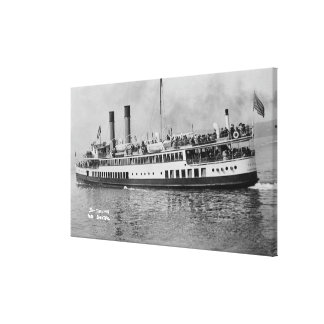Seattle, WashingtonView of the Tacoma Steamer Canvas Print