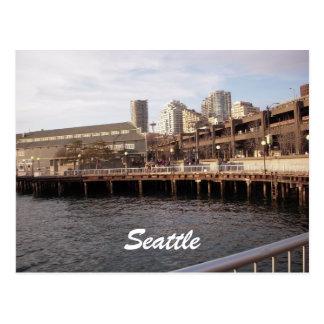 Seattle Waterfront 2009 Seattle Post Card
