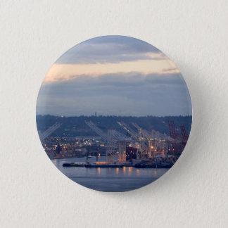 Seattle Waterfront 2 Inch Round Button