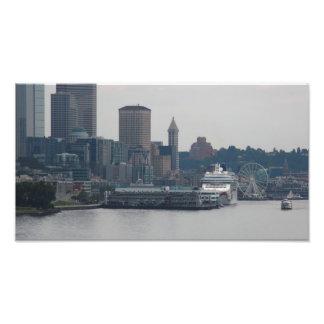 Seattle Waterfront Art Photo