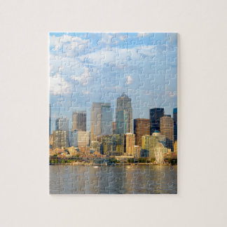 Seattle Waterfront Jigsaw Puzzle