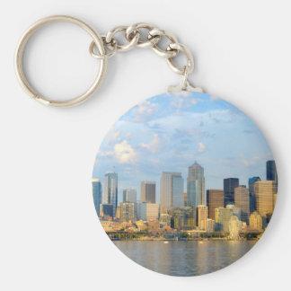 Seattle Waterfront Keychain