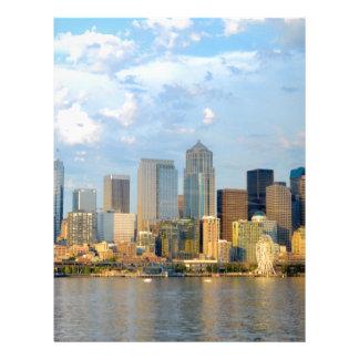 Seattle Waterfront Letterhead