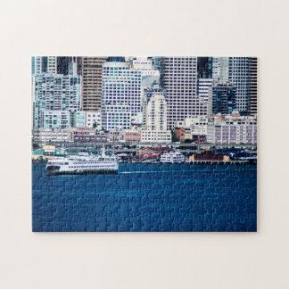 Seattle Waterfront - Medium Jigsaw Puzzle