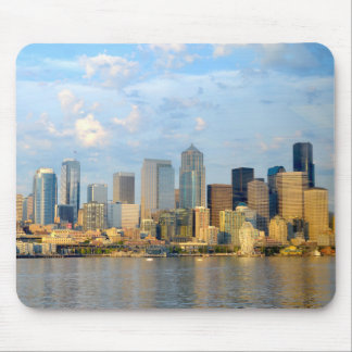 Seattle Waterfront Mouse Pad