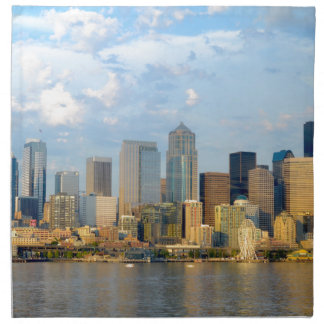 Seattle Waterfront Napkin