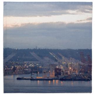Seattle Waterfront Napkin