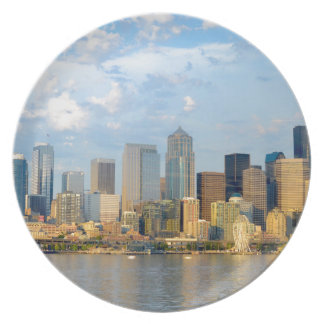 Seattle Waterfront Plate
