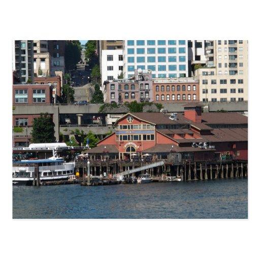 Seattle Waterfront... Postcard