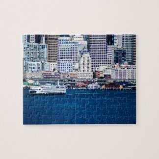 Seattle Waterfront - Small Jigsaw Puzzle