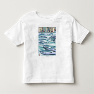 SeattleFish on Ice at Pike Place Market Toddler T-shirt