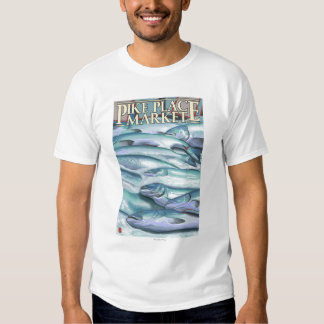 SeattleFish on Ice at Pike Place Market Tshirt