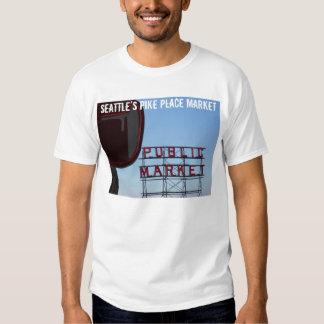 Seattle's Pike Place Market T-shirts