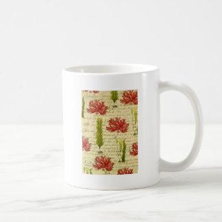 Seaweed and chorales coffee mug