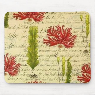 Seaweed and chorales mouse pad
