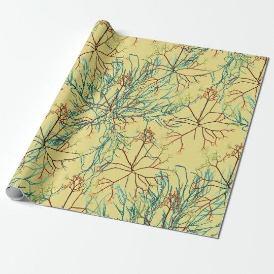 Seaweed Aquatic Pattern Paper Wrap