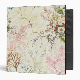 Seaweed design for silk material (w/c on paper) vinyl binder