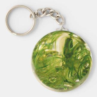 Seaweed Globe Key Chain