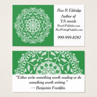 Seaweed Mandala Business Card