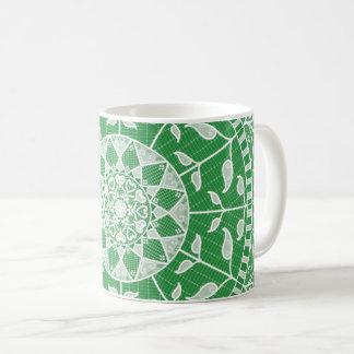 Seaweed Mandala Coffee Mug