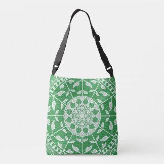 Seaweed Mandala Crossbody Bag