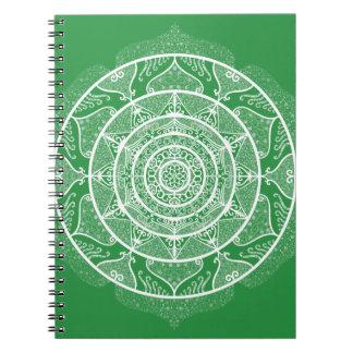 Seaweed Mandala Notebooks