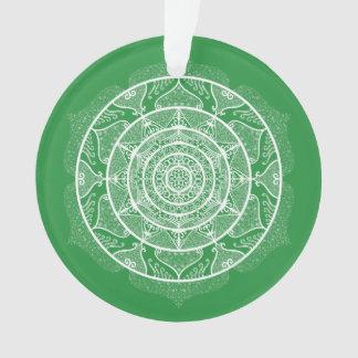 Seaweed Mandala Ornament