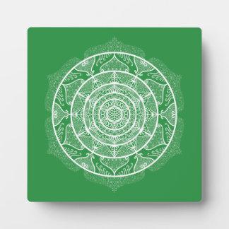 Seaweed Mandala Plaque