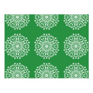 Seaweed Mandala Postcard