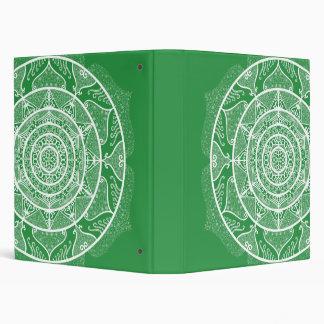 Seaweed Mandala Vinyl Binders
