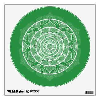 Seaweed Mandala Wall Sticker