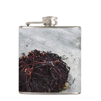 Seaweed Roots Hip Flask