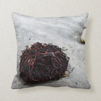 Seaweed Roots Throw Pillow