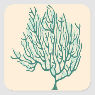 Seaweed Square Sticker