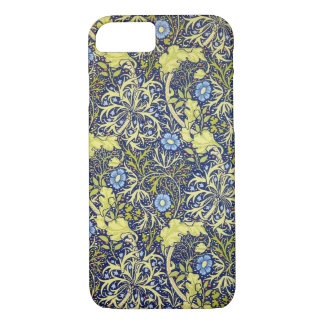 Seaweed vintage william morris iPhone 7 case