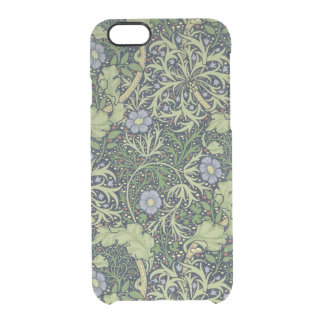 Seaweed Wallpaper Design, printed by John Henry De Clear iPhone 6/6S Case